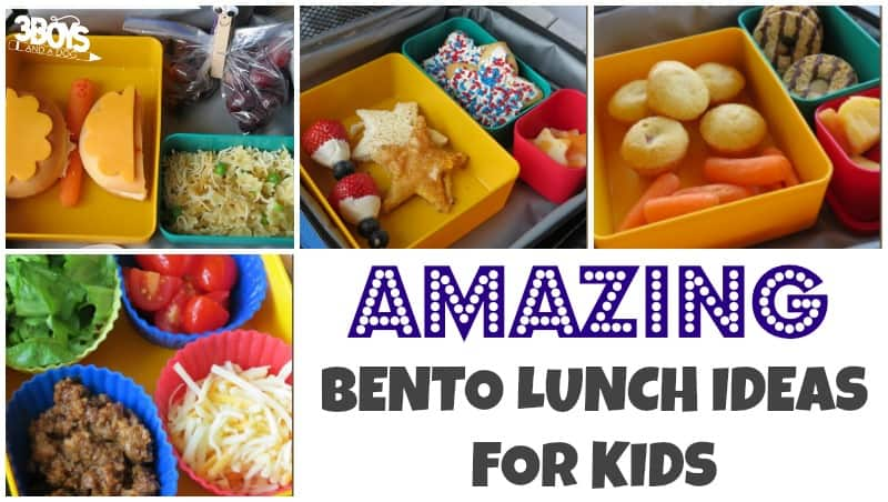 13 Amazing Bento Lunch Ideas for Kids