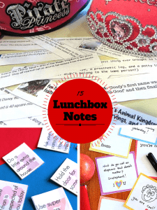 15 Printable Lunchbox Notes for Kids