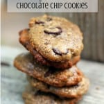 5 Ingredient Chocolate Chip Cookies