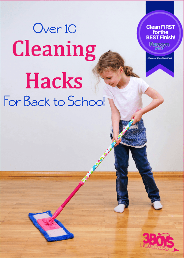 Back to School Cleaning Hacks