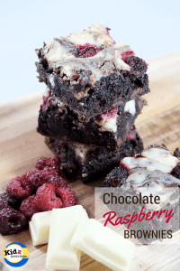 delicious chocolate raspberry brownies