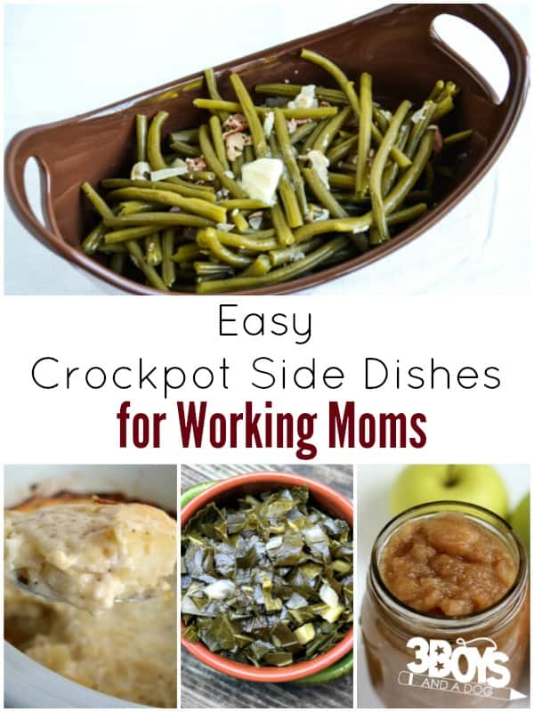 Easy Crockpot Side Dish Recipes for Working Moms