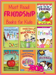 Books about friendship and making friends for kids