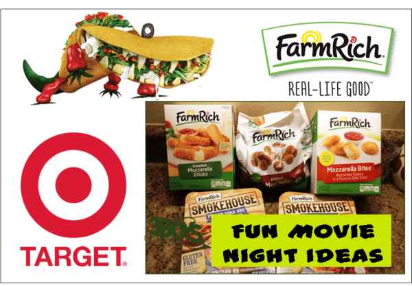 Fun Movie Night Ideas with Cloudy with a Chance of Meatballs and Farm Rich