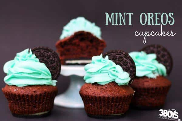 Decadent mini dessert recipe for a Chocolate Mint Oreo Cupcake, one of the best Oreo Cupcake Recipes you will ever eat, let alone make. Includes tips for the best mint buttercream