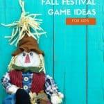 Over 20 Fall Festival Game Ideas