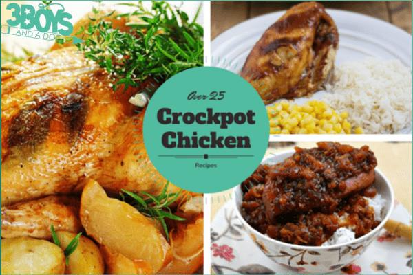 Over 25 Simple Crockpot Chicken Recipes