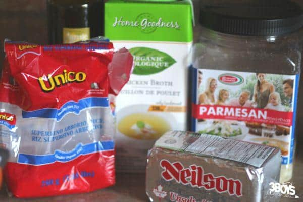 Quality ingredients are the key to a great risotto recipe