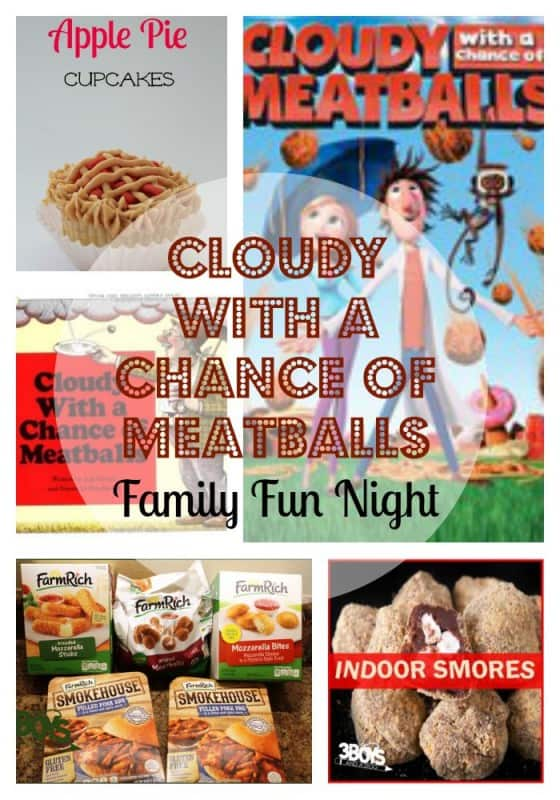 Cloudy With A Chance Of Meatballs Movie Night Ideas 3 Boys And A Dog