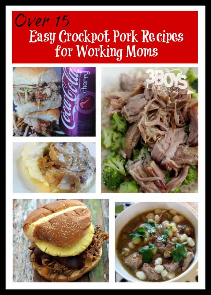 easy crockpot pork recipes