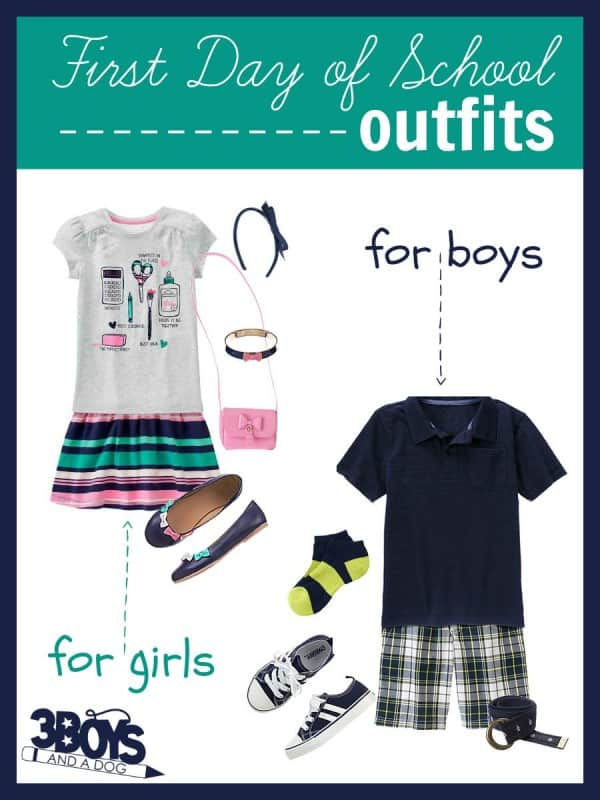 Adorable outfits for your toddler's first day of PreK!