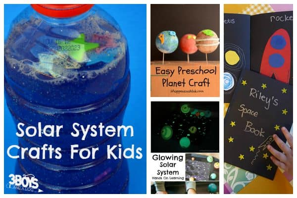 Solar System Arts And Crafts For Kids