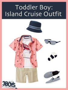 Toddler Boy Island Cruise Outfit