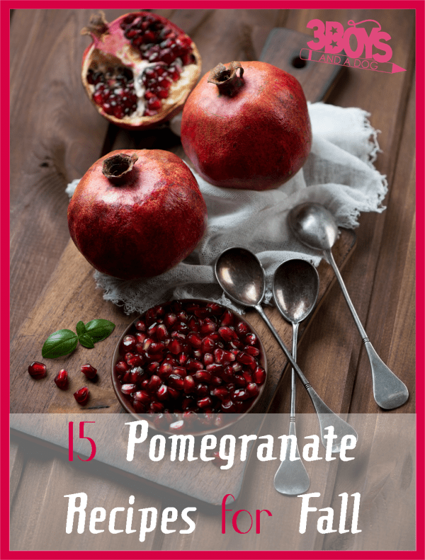 15 Pomegranate Recipes for Fall