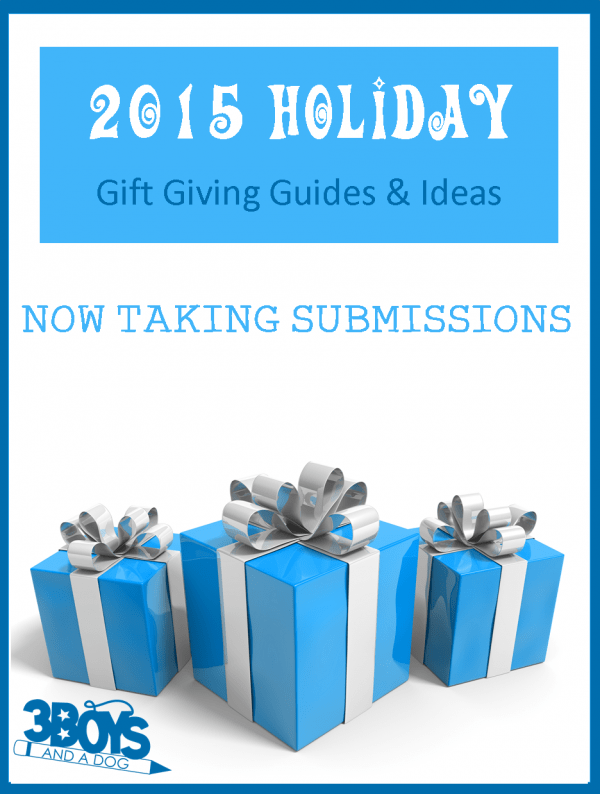 2015 Holiday Gift Giving Guides now taking submissions