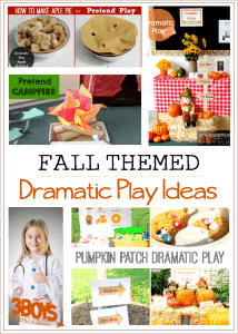 Fall Dramatic Play Ideas for Children