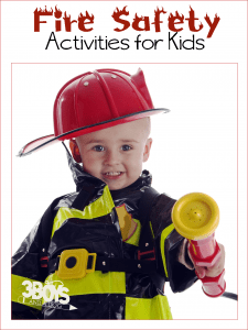 Fire Safety and Fire Awareness Activities for Kids