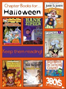 Halloween Chapter Books