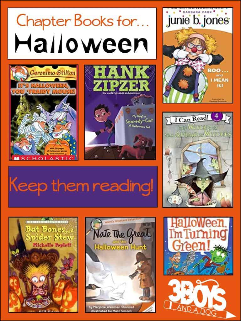 Halloween Chapter Books