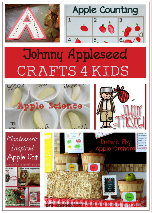 Johnny Appleseed Activities for Kids