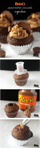 Reeses Candy Bar Cupcake Recipe