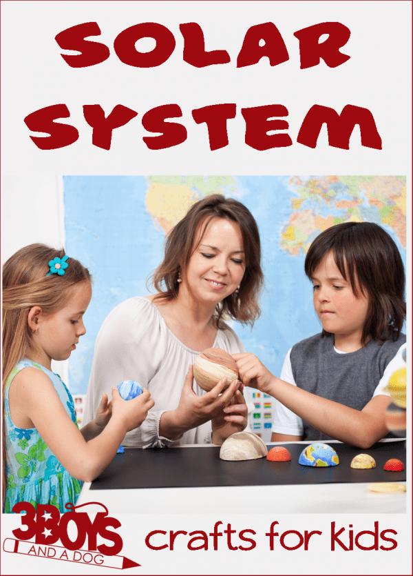 Solar System Crafts for Kids