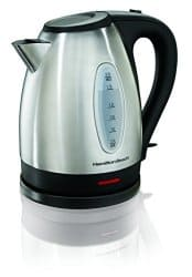 Hamilton Beach 40880 Stainless Steel Electric Kettle $26.00