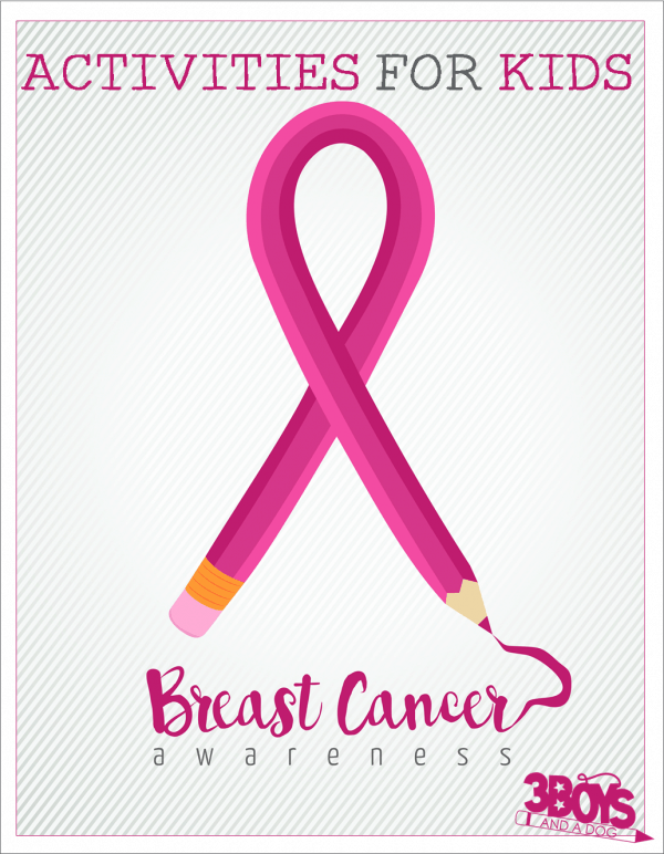 Breast Cancer Awareness Activities for Kids