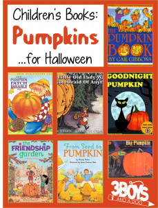 Childrens Books About Pumpkins