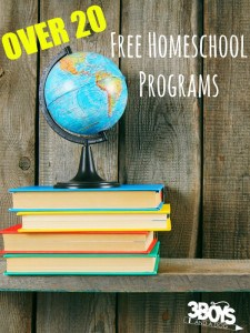 Over 20 Free Homeschool Programs