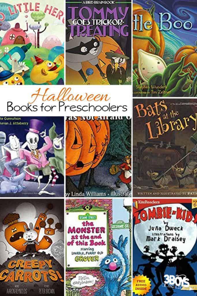 Preschool Halloween Books