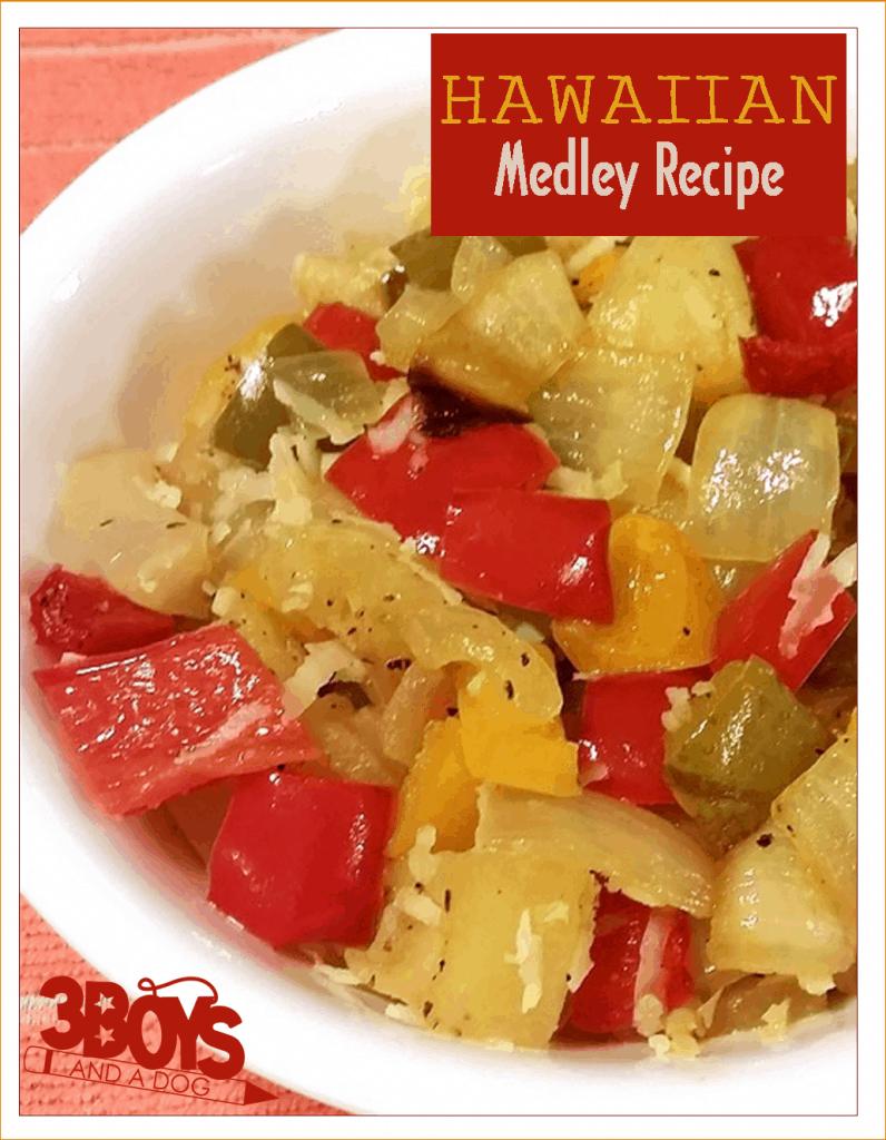 Low Calorie: Hawaiian Medley Side Dish Recipe