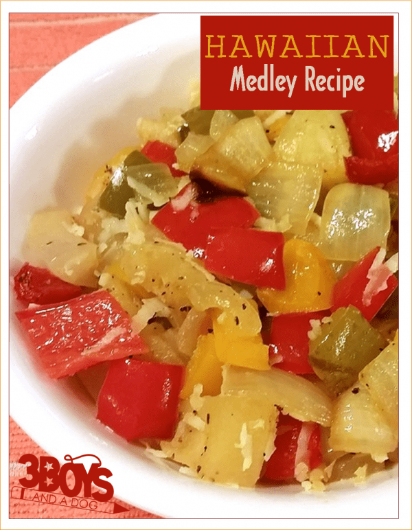 Low Calorie: Hawaiian Medley Side Dish Recipe