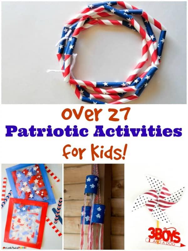 Patriotic Activities for Kids