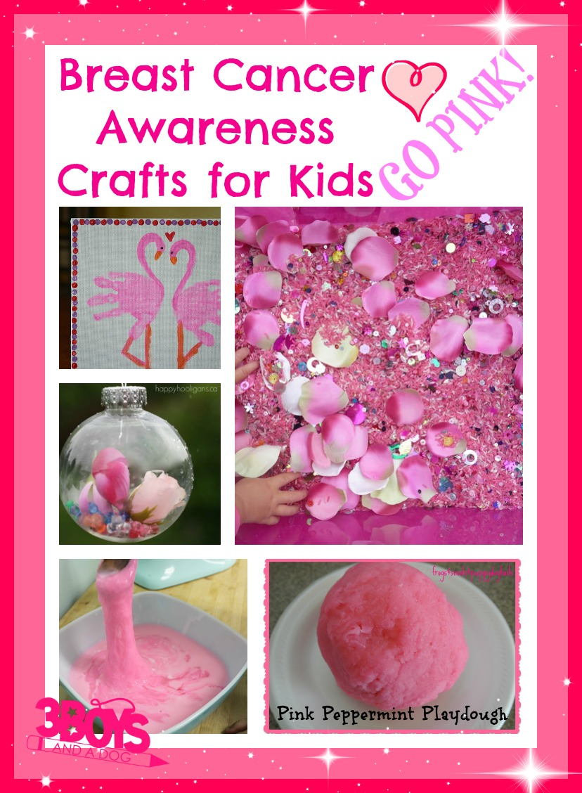 Cancer Awareness Crafts Ideas