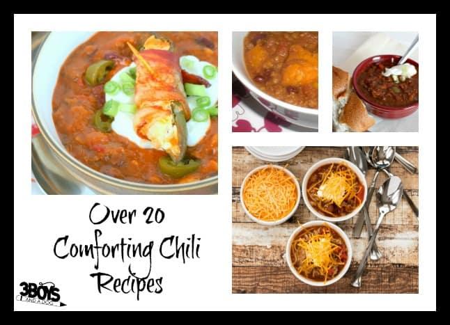 comforting chili recipes