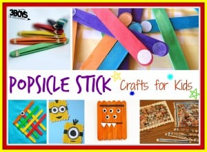 Over 15 Popsicle Stick Crafts for Kids