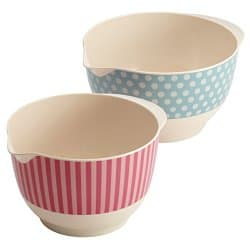 Cake Boss 2- Piece Melamine Mixing Bowl Set 68% off