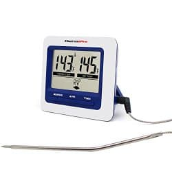 ThermoPro Meat Thermometer and Built In Cooking Clock Countdown Timer %60 off