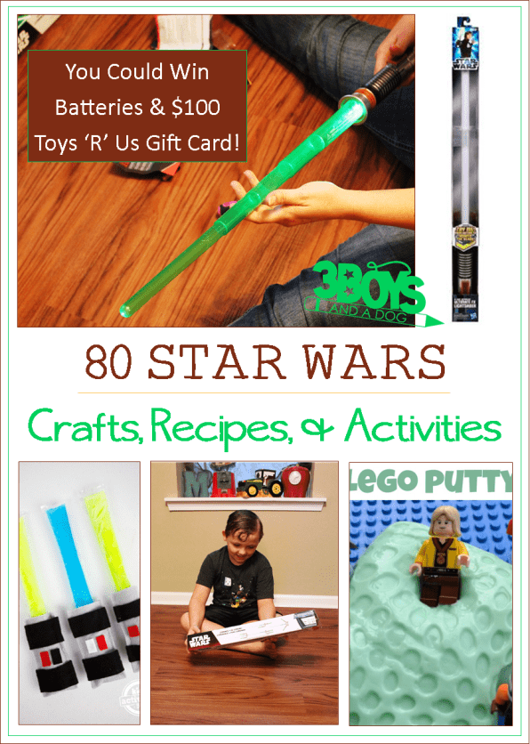 80 Star Wars Recipes Crafts and Activities for Kids