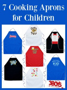 7 Cooking Aprons for Children