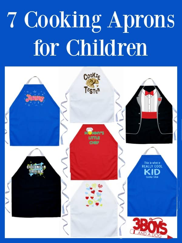 Cooking Aprons for Children