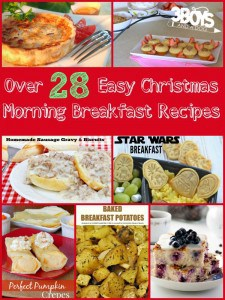 Over 28 Easy Christmas Morning Breakfast Ideas
