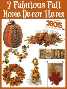 7 Fabulous Fall Home Decor Items