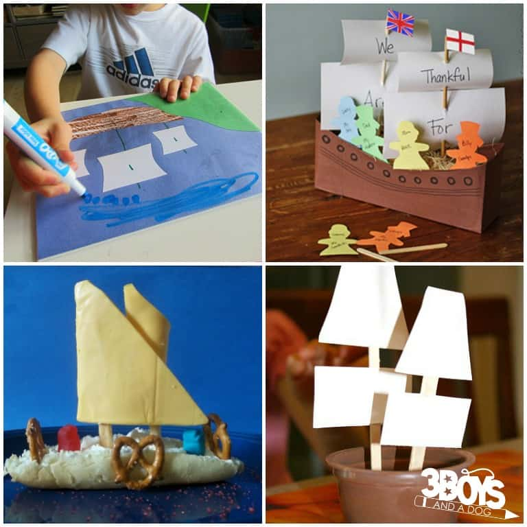 Fun Mayflower Crafts and Activities for Kids