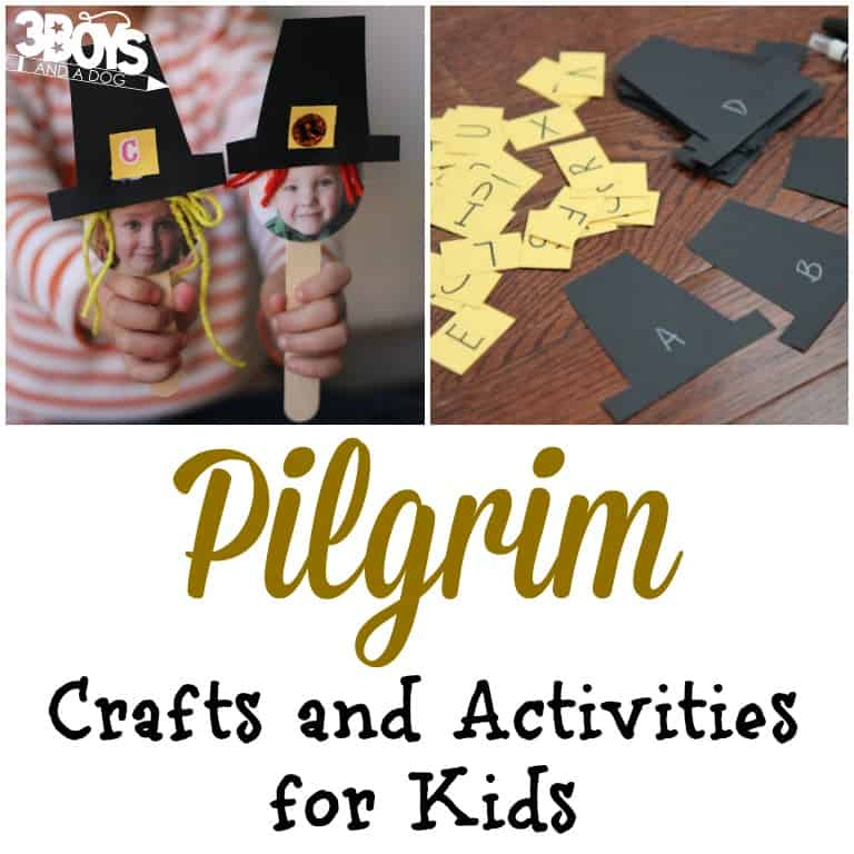 Fun Pilgrim Crafts and Activities for Kids