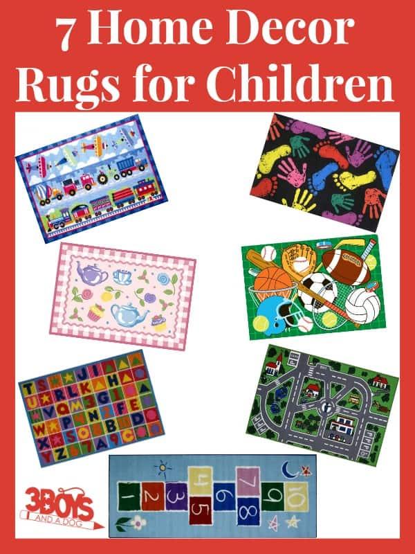 Home Decor Rugs for Children