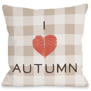 I-Heart-Autumn-Plaid-Woven-Polyester-Throw-Pillow