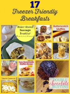 17+ Freezer Friendly Breakfasts