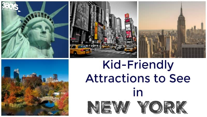 Kid Friendly Attractions to See in New York
